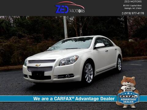 2010 Chevrolet Malibu for sale at Zed Motors in Raleigh NC