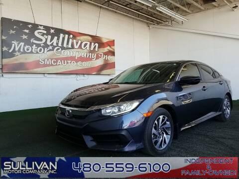 2017 Honda Civic for sale at SULLIVAN MOTOR COMPANY INC. in Mesa AZ