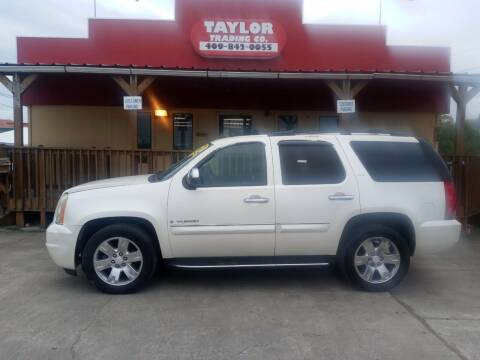 2008 GMC Yukon for sale at Taylor Trading Co in Beaumont TX