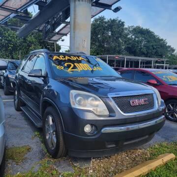 2011 GMC Acadia for sale at America Auto Wholesale Inc in Miami FL