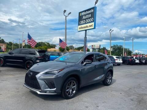 2020 Lexus NX 300 for sale at Michaels Autos in Orlando FL