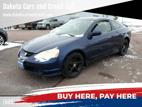 2003 Acura RSX for sale at Dakota Cars and Credit LLC in Sioux Falls SD