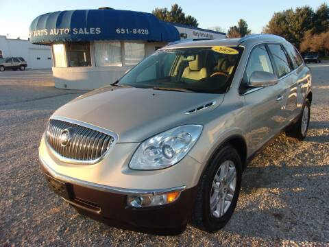 2009 Buick Enclave for sale at Marty Hart's Auto Sales in Sturgis MI