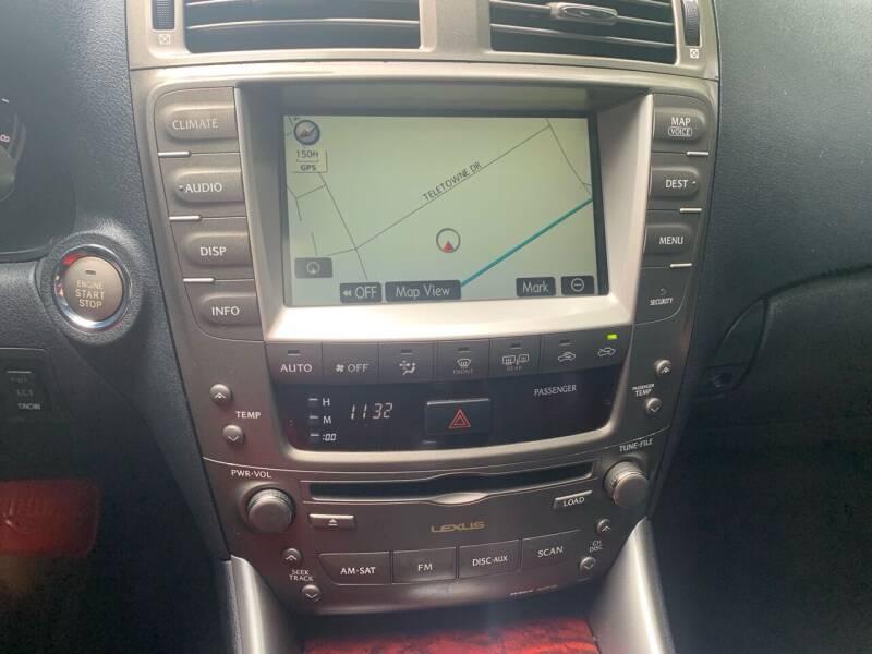 2008 Lexus IS 250 AWD 4dr Sedan - West Pittsburg PA