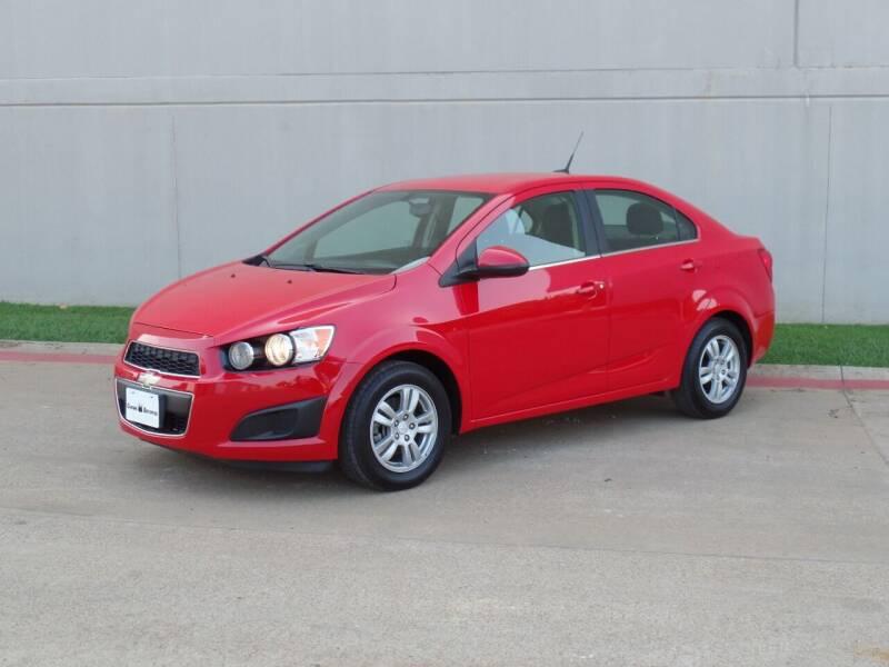 2014 Chevrolet Sonic for sale at CROWN AUTOPLEX in Arlington TX