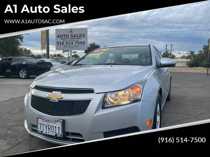 2014 Chevrolet Cruze for sale at A1 Auto Sales in Sacramento CA