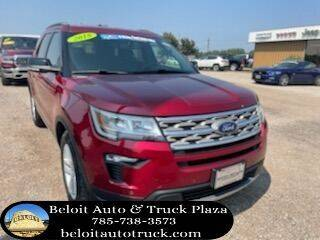 2018 Ford Explorer for sale at BELOIT AUTO & TRUCK PLAZA INC in Beloit KS