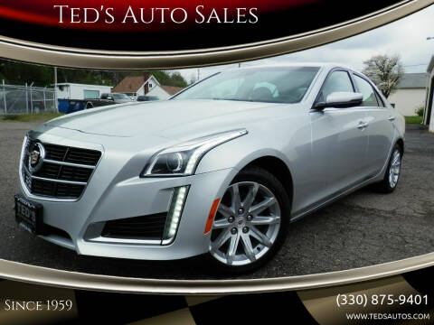 2014 Cadillac CTS for sale at Ted's Auto Sales in Louisville OH