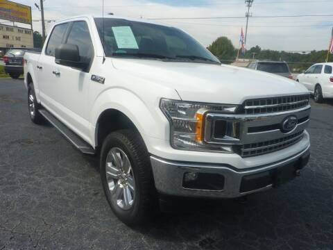 2018 Ford F-150 for sale at Roswell Auto Imports in Austell GA