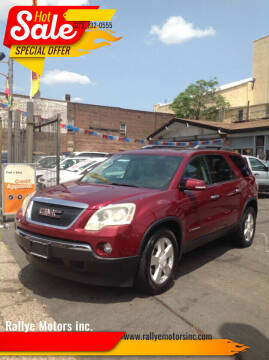 2007 GMC Acadia for sale at Rallye  Motors inc. in Newark NJ