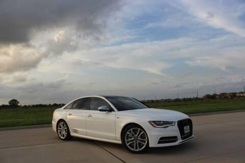 2013 Audi S6 for sale at Zora Motors in Houston TX