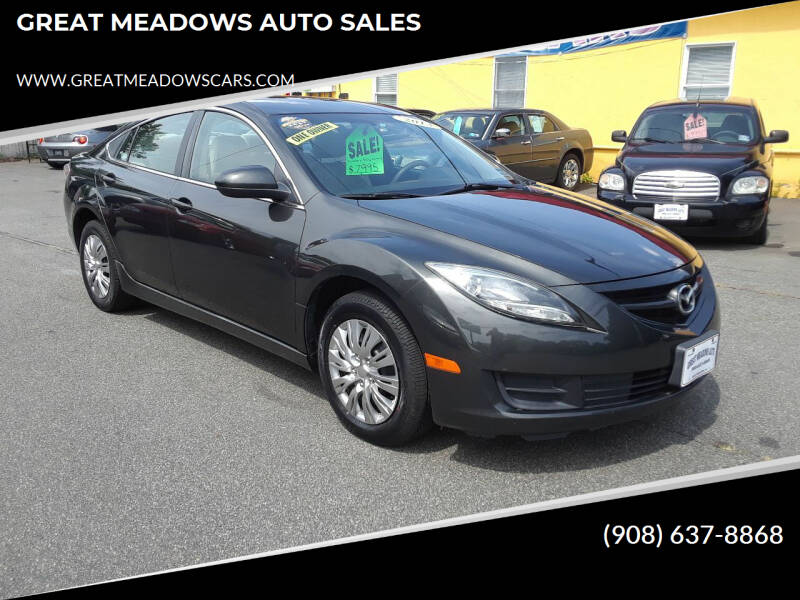 2013 Mazda MAZDA6 for sale at GREAT MEADOWS AUTO SALES in Great Meadows NJ