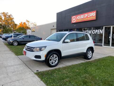 2016 Volkswagen Tiguan for sale at HOUSE OF CARS CT in Meriden CT