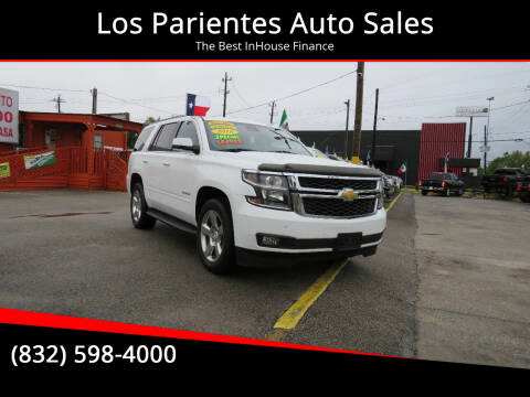 2016 Chevrolet Tahoe for sale at Los Parientes Auto Sales in Houston TX