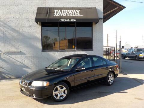 2009 Volvo S60 for sale at FAIRWAY AUTO SALES, INC. in Melrose Park IL