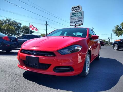 2016 Dodge Dart for sale at BAYSIDE AUTOMALL in Lakeland FL