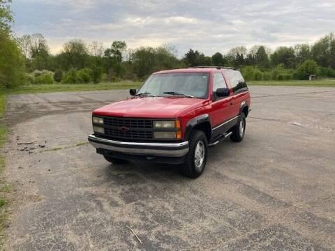 1992 Chevrolet Blazer for sale at Caruzin Motors in Flint MI