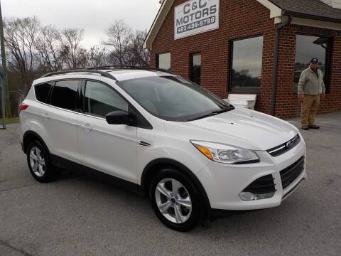 2016 Ford Escape for sale at C & C MOTORS in Chattanooga TN