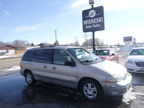 2003 Ford Windstar for sale at Wisneski Auto Sales, Inc. in Green Bay WI