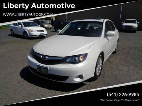 2010 Subaru Impreza for sale at Liberty Automotive in Grants Pass OR