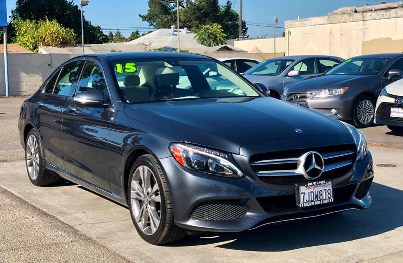 2015 Mercedes-Benz C-Class for sale at H & K Auto Sales & Leasing in San Jose CA