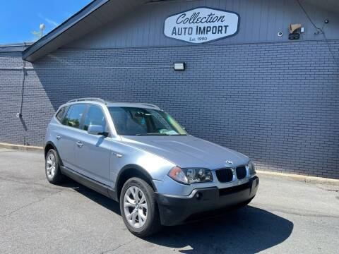 2004 BMW X3 for sale at Collection Auto Import in Charlotte NC