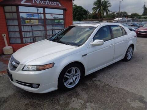 2007 Acura TL for sale at Z MOTORS INC in Hollywood FL