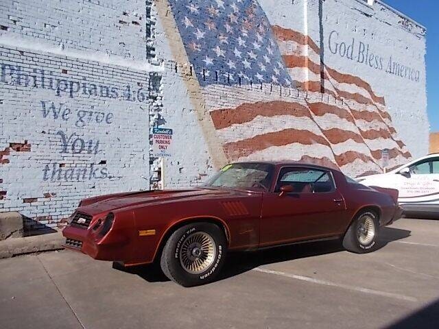 1978 Chevrolet Camaro for sale at LARRY'S CLASSICS in Skiatook OK