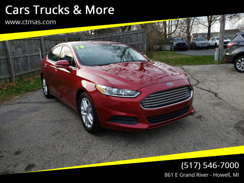 2014 Ford Fusion for sale at Cars Trucks & More in Howell MI