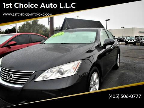 2008 Lexus ES 350 for sale at 1st Choice Auto L.L.C in Oklahoma City OK