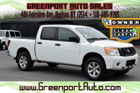 2014 Nissan Titan for sale at GREENPORT AUTO in Hudson NY
