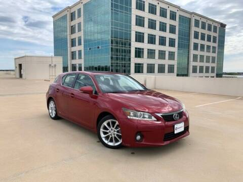 2012 Lexus CT 200h for sale at SIGNATURE Sales & Consignment in Austin TX