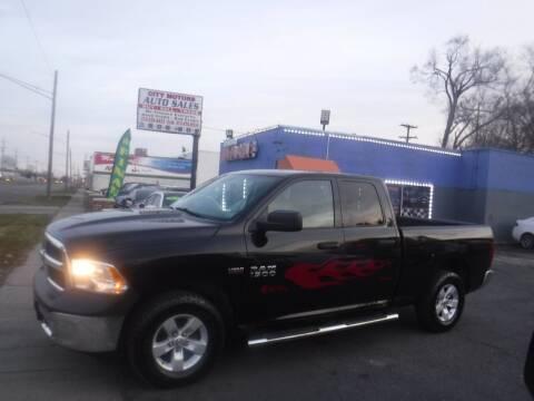 2014 RAM Ram Pickup 1500 for sale at City Motors Auto Sale LLC in Redford MI