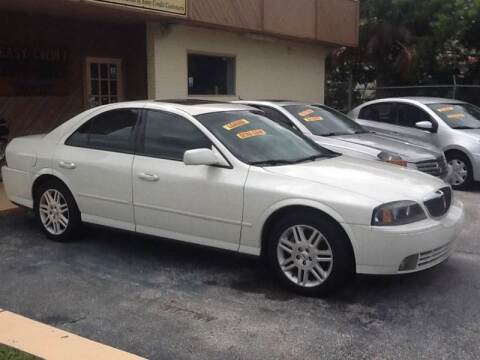 2005 Lincoln LS for sale at Easy Credit Auto Sales in Cocoa FL