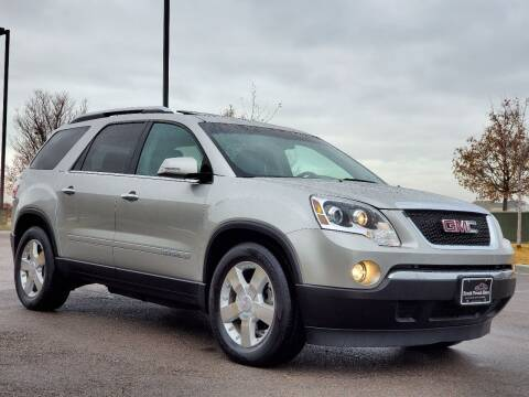 2007 GMC Acadia for sale at FRESH TREAD AUTO LLC in Springville UT