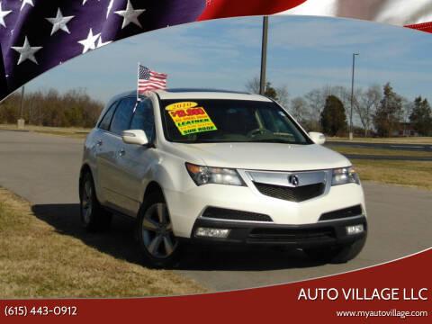 2010 Acura MDX for sale at AUTO VILLAGE LLC in Lebanon TN
