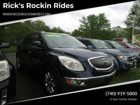 2011 Buick Enclave for sale at Rick's Rockin Rides in Reynoldsburg OH