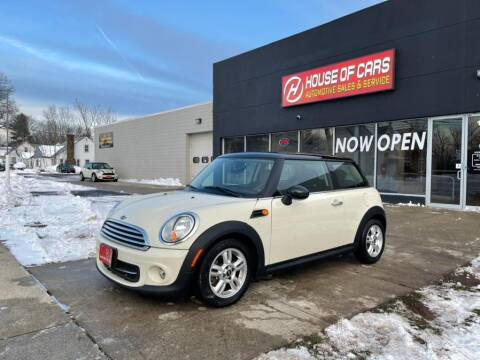 2012 MINI Cooper Hardtop for sale at HOUSE OF CARS CT in Meriden CT