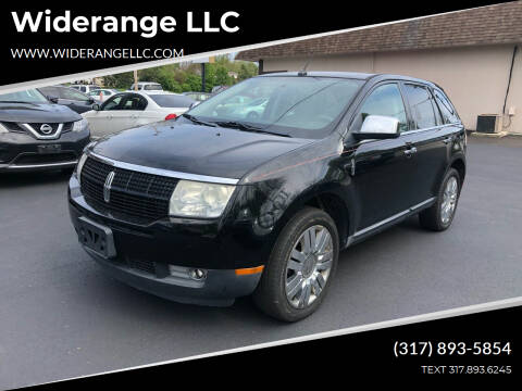 2009 Lincoln MKX for sale at Widerange LLC in Greenwood IN