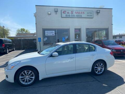 2007 Infiniti G35 for sale at C & S SALES in Belton MO