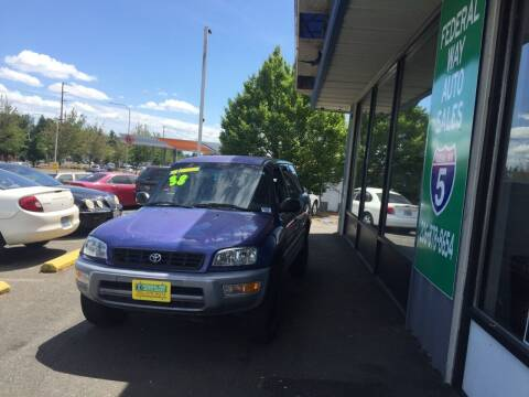 2000 Toyota RAV4 for sale at Federal Way Auto Sales in Federal Way WA
