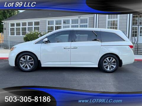 2017 Honda Odyssey for sale at LOT 99 LLC in Milwaukie OR