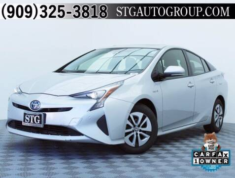 2018 Toyota Prius for sale at STG Auto Group in Montclair CA