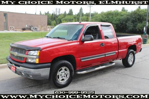 2004 Chevrolet Silverado 1500 for sale at Your Choice Autos - My Choice Motors in Elmhurst IL