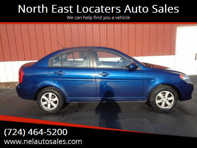 2011 Hyundai Accent for sale at North East Locaters Auto Sales in Indiana PA