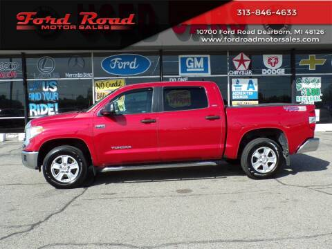 2014 Toyota Tundra for sale at Ford Road Motor Sales in Dearborn MI
