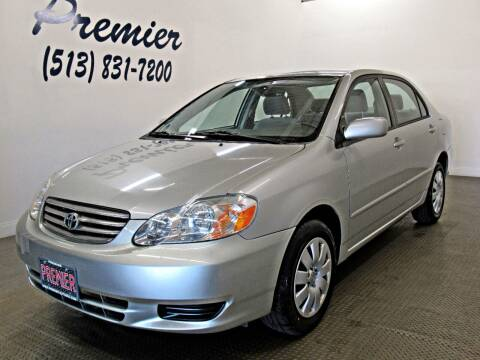 2004 Toyota Corolla for sale at Premier Automotive Group in Milford OH