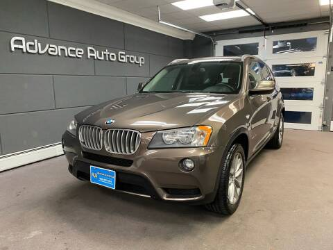 2013 BMW X3 for sale at Advance Auto Group, LLC in Chichester NH