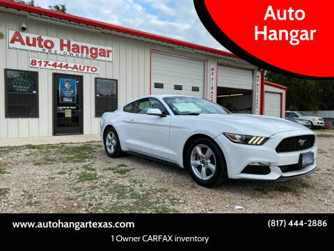 2016 Ford Mustang for sale at Auto Hangar in Azle TX