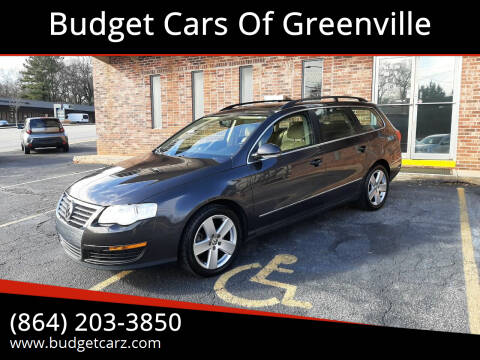 2008 Volkswagen Passat for sale at Budget Cars Of Greenville in Greenville SC
